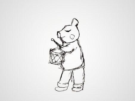 ぶたちゃん音楽隊 Piggy Musician ©︎Marguerite Label