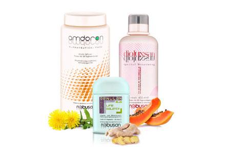Amdoron, Dioluxsan & Renulan zur Optimierung Ihrer Verdauung von Nobusan