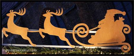 mit dem Schlitten über den hannoverschen Weihnachtsmarkt - nur leider schon vorbei