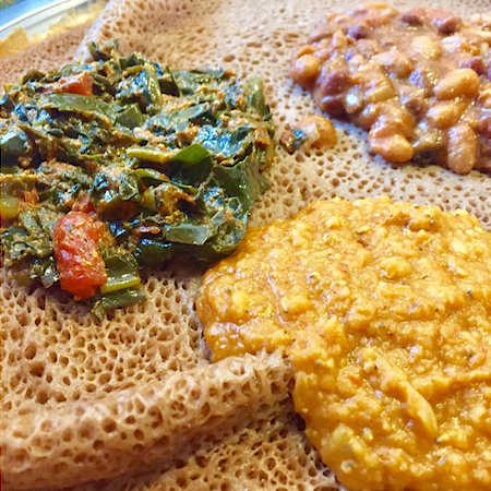 ethiopian injera dish from talking drums