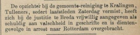 Provinciale Noordbrabantsche en 's Hertogenbossche courant 30-08-1879