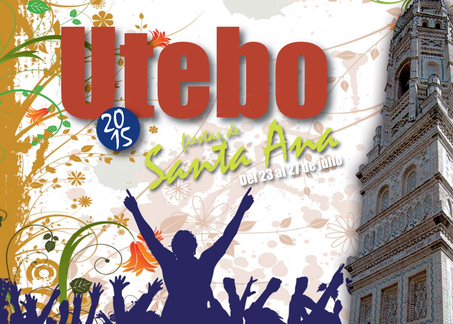 Fiestas de Santa Ana en Utebo 2015 Cartel