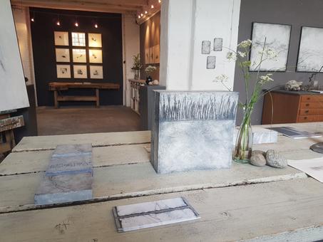6. Kunstsalon im Atelier Bettina Hachmann - wandelsinn.de