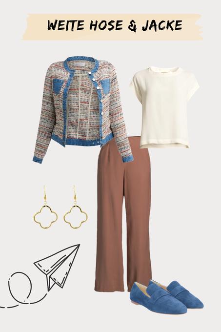 Hosen-Outfit für Lehrerinnen