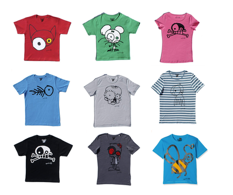 camisetas manga corta algodón orgánico GOTS comerciojusto www.invertirenfamilia.com