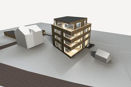 Starkl Vieli Architekten Mehrfamilienhaus Dallenwil