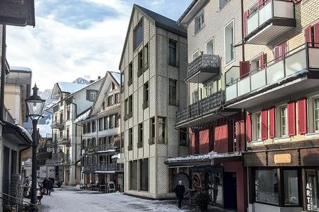 Starkl Vieli Architekten Mehrfamilienhaus Winterthur