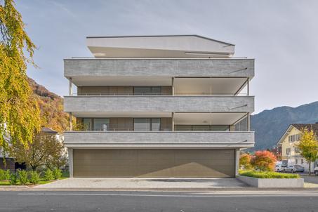 Starkl Vieli Architekten Mehrfamilienhaus Stansstad