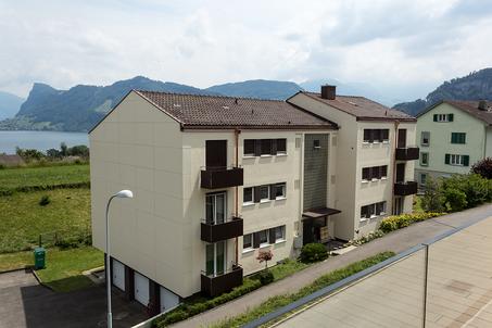 Starkl Vieli Architekten Fassadensanierung Hergiswil