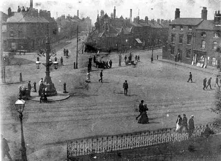 Gosta Green c1925. Image from the BirminghamLives website 'All Rights Reserved' used with the kind permission of Carl Chinn