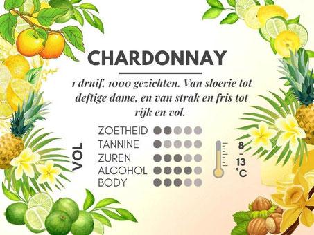 Verschil Chardonnay en Sauvignon Blanc - Chardonnay smaakprofiel