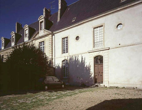 Grand prieuré d'Aquitaine, batiment principal