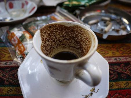 Le café turc, élement essentiel de la cuisine des Balkans