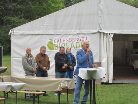 Altbürgermeister Schmalstieg eröffnet die Boulewoche