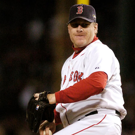 Nella foto Curt Schilling (Focus On Sport/Getty Images)
