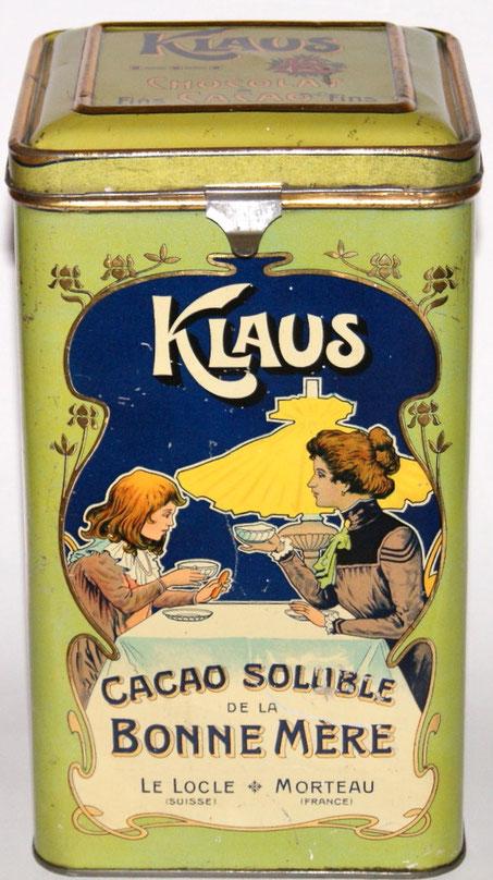 Klaus CACAO 26x14cm Container traumhaft schöner Jugendstil Entwurf