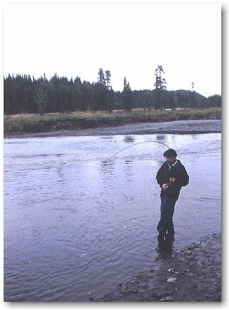 Kasilof River Alaska King Salmon