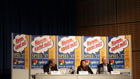 Pressekonferenz und Neuheitenschau SPIEL'17