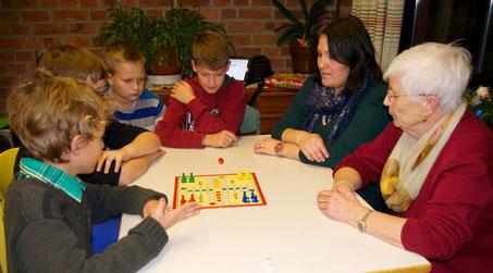 Finale der Spieler(innen): Jung und Alt zusammen