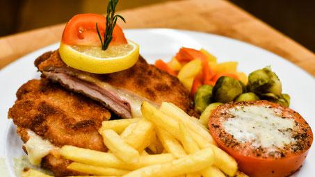 Cordon bleu, Restaurant Rössli Dürrenast Thun