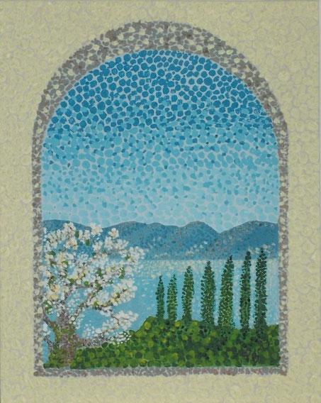 Mediterranean Spring ( poimtillism )