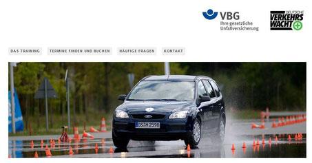 Das Team von Heideglas Uelzen hat am Unfallverhütungstraining der VBG teilgenommen