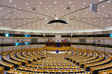 Europaparlament Plenarsaal
