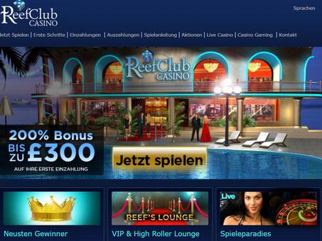 Lobby ReefClub Casino