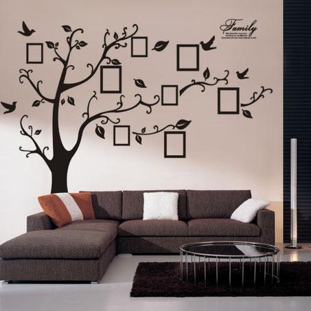 Déco murale avec des stickers