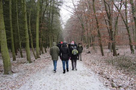 Winterwanderung des Nabu Walldorf 2017