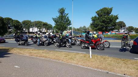 Op weg naar een mooi dagje op Texel