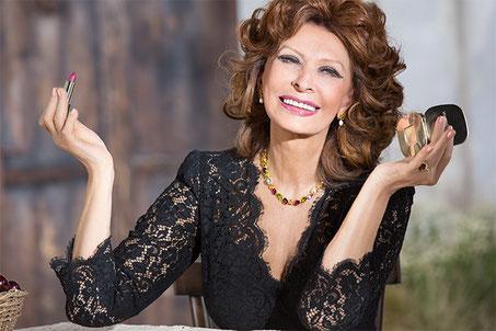 Sophia Loren, Noeud Nord Verseau en maison I.