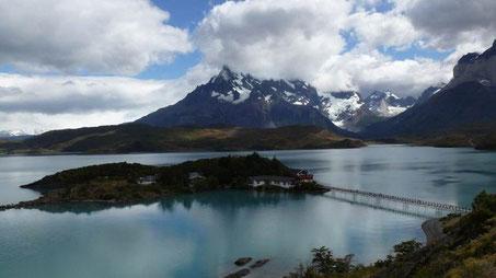 Patagonien, Blick auf den See