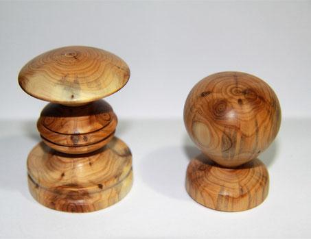 Holz, Haken, Drechselarbeit, Tilmann Bohne, Holzsteinpapier
