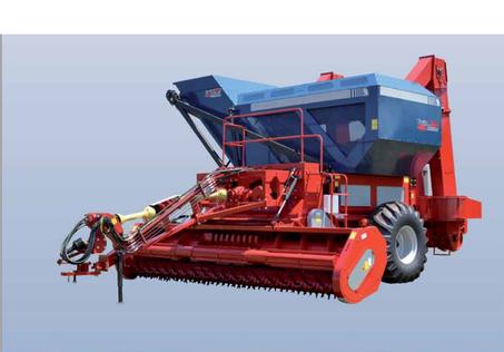 6 sıralı fıstık ve fasulye hasat makinesi