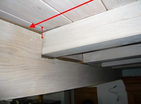 expertise d 39 une poutre en bois entaill e fissur e gwenan experts b timent et bois. Black Bedroom Furniture Sets. Home Design Ideas