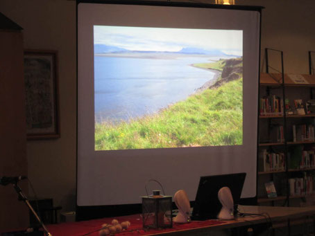 Reise nach Lannoch mit Bildern und Wellenrauschen