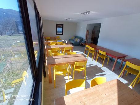 Salle gite communal Sappey en Chartreuse