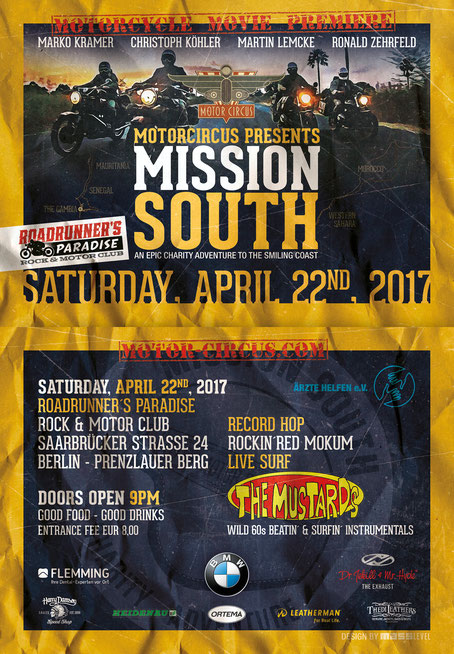 Motor Circus presents Mission South