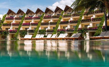 Hotel tout inclus, bord de mer