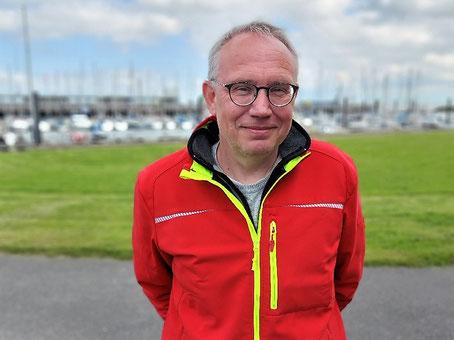 Habour master Peter Küther