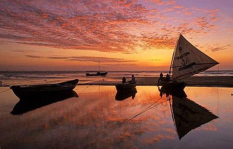Prea Beach in Brasil
