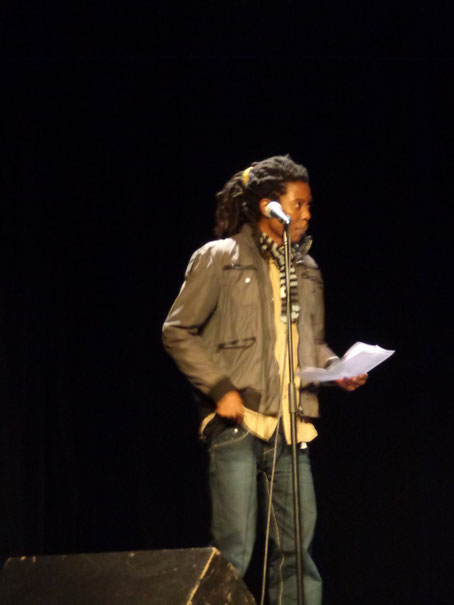 L'effrayable en reggae-rap par Ewa