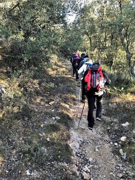 Rando découverte de Randos Canétoises à Montbolo le 19 décembre 2017