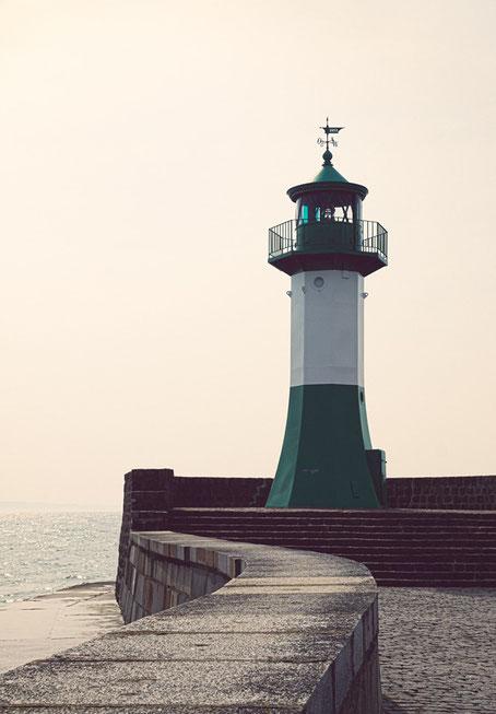 Leuchtturm auf der Insel Hiiumaa in der Ostsee