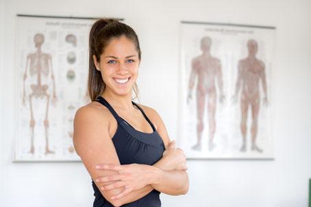 Physiotherapeut Ernährungsberater und Personal Trainer Viviane Wintermantel
