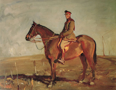 Alfred Munnings  'Major-Genera; The Rt Hon J.E.B. Seely'  (Canada War Museum)
