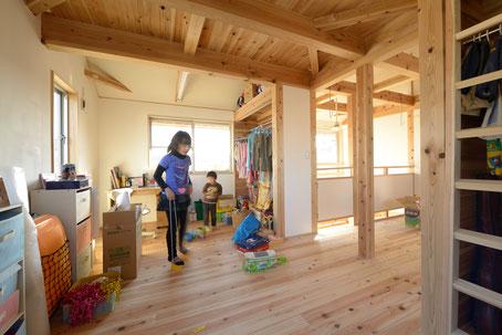 未完成の子供部屋
