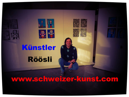 Exhibitions Art Lucerne Daniel Roeoesli Painter Artist,