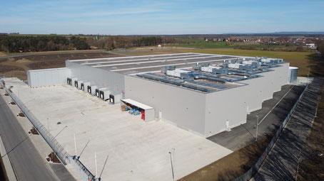 Gefahrstofflager VS Logistics Dettelbach